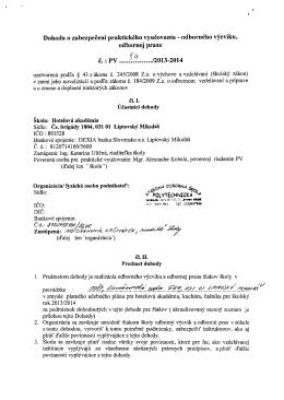 14/13 - Stredná odborná škola POLYTECHNICKÁ