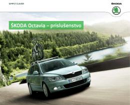 Katalóg Škoda Octavia originálne príslušenstvo