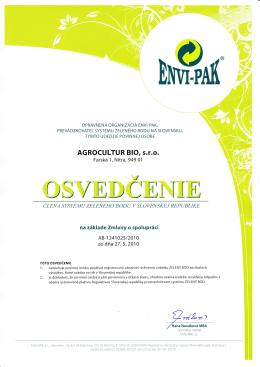 ENVI-PAK AB-1241025/2010