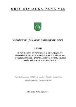 VZN_ 3_-_2011.pdf - Diviacka Nová Ves