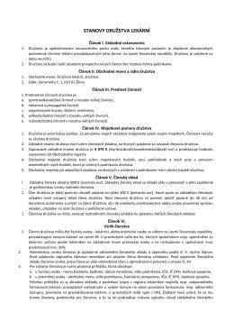 Stanovy DL.pdf - Družstvo lekární