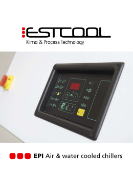 EPI Air & water cooled chillers