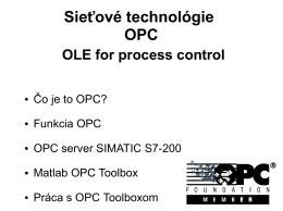 Čo je to OPC - POSTERUS.sk