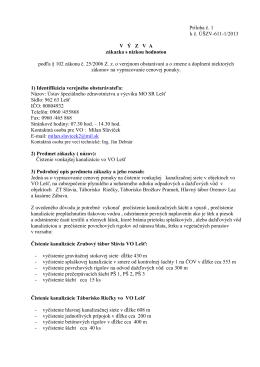 ZsNH- Čistenie vonkajšej kanalizácie [pdf]