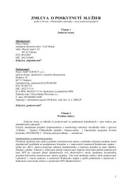 Externý manažment projektu (implementácia a