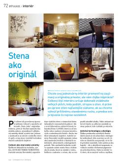 Stena ako originál SaB 03-04/2010