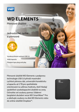 WD Elements™ Portable Storage - Product Overview