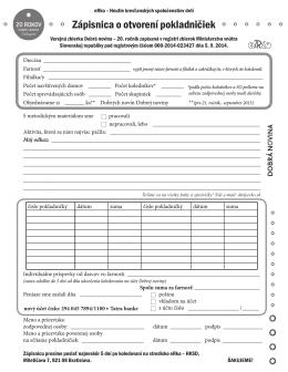 Zápisnica /PDF