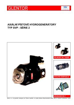 axiální pístové hydrogenerátory typ svp - série 2