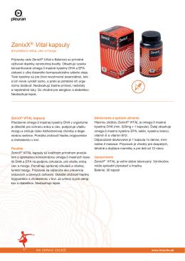 ZenixX® Vital kapsuly