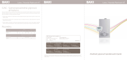 Leták - Baxi