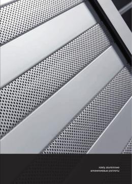 rolety aluminiowe aлюминиевые роллеты alu-roll BOX