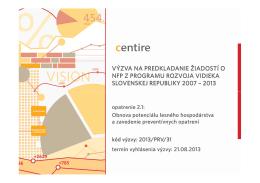 Microsoft PowerPoint - prezentacia vyzvy_PRV_2 1_v2 [iba