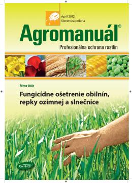Fungicídne ošetrenie obilnín, repky ozimnej a slnečnice