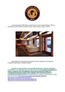 Kaviareň Coffe Berry Hlohovec (pdf)