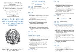 Výskum Dejín Knižnej Kultúry na Slovensku.indd