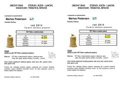 Vývoz PET fliaš a ostatných plastov - 2. polrok 2014