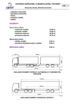 Maximálna dĺžka - KDMT