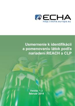 3 rámec identifikácie látok podľa nariadení reach a - ECHA
