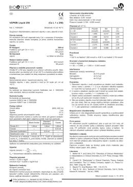 VÁPNÍK Liquid 250 (Ca L 1 x 250)