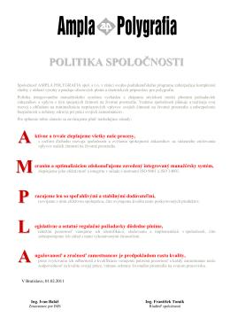 AA M P L AA - AMPLA POLYGRAFIA