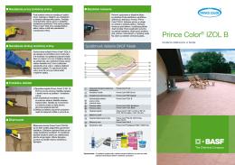 Prince Color® IZOL B - STAVOMAT, sro, Košice
