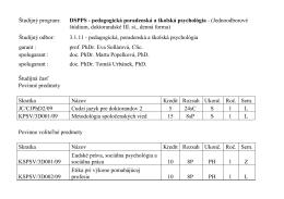 pedagogická poradenská a školská psychológia