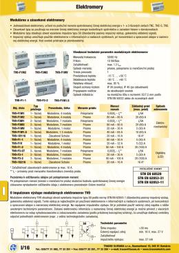 PDF 1,2 MB - ROTEX ELEKTRO sro