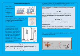 poznámky sily pôsobiace v kvapalinách-1