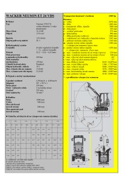 Technické parametre WN ET 24 VDS Súbor na stiahnutie