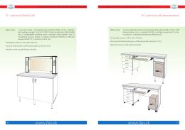 Ostatné laboratórne stoly