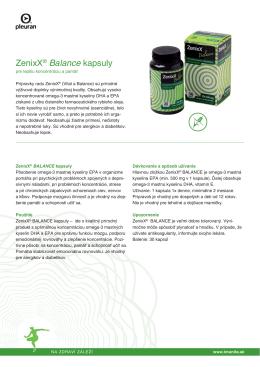 ZenixX® Balance kapsuly