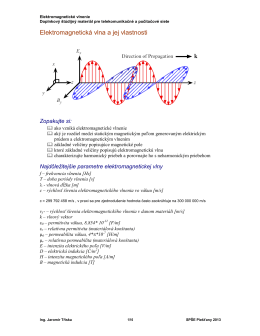Elektromagnetické vlnenie