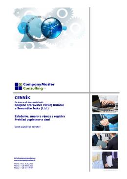 otvoriť... - companymaster.sk