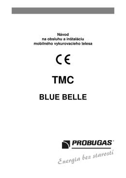 Mobilný ohrievač BLUE BELLE