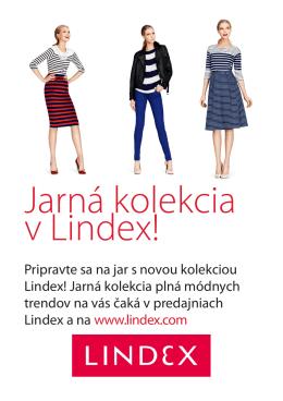Jarná kolekcia v Lindex!