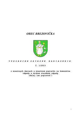 VZN dane - Brezovička