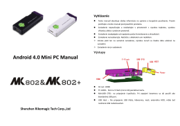 Android 4.0 Mini PC Manual