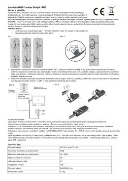 Vonkajšia DVB-T anténa Solight HN50 Návod k použitiu