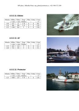 USCG Edisto USCG 44´ USCG Protector