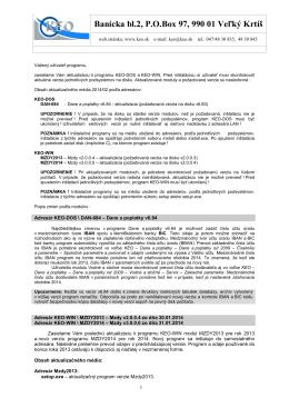 aktualizacia keo 2014-02