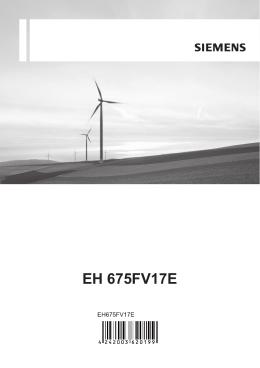 EH 675FV17E - Moje spotřebiče