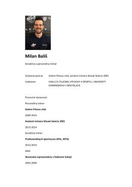 Milan Bališ