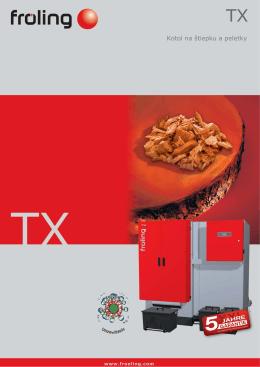 Stiahnite si Technický list TX 150 v PDF