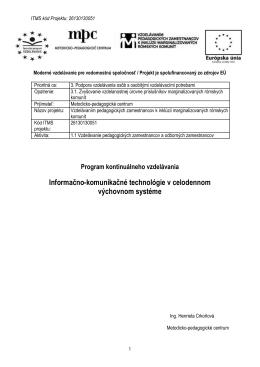 Program - eduk.sk