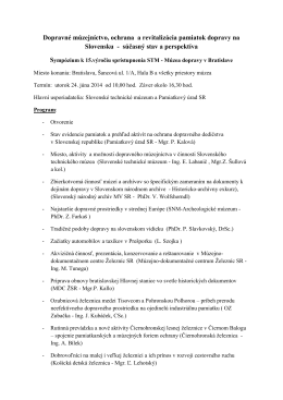 Program - Slovenské centrum dizajnu
