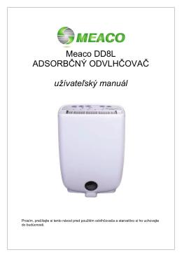 Bytový adsorbčný odvlhčovač MEACO DD8L