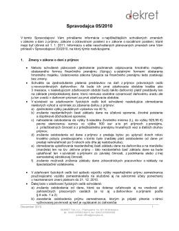 Spravodaj 05/2010