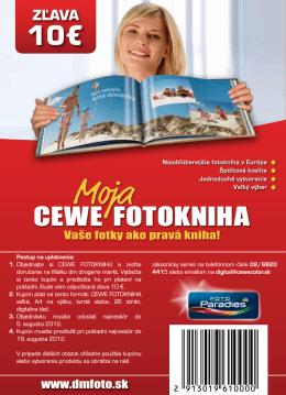 ZĽAVA - CEWE a.s.