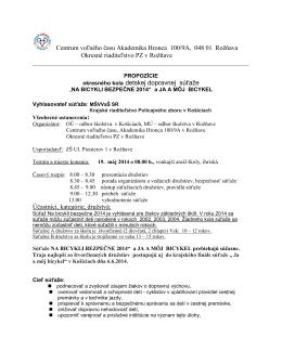 Centrum voľného času Akademika Hronca 100/9A